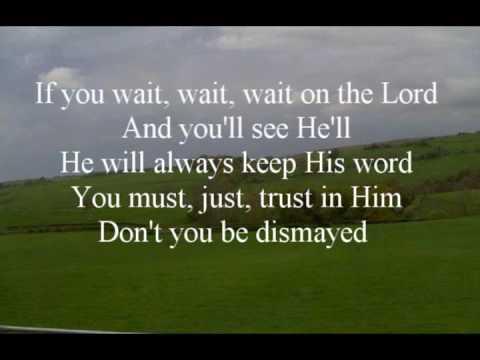 Donnie McClurkin Wait On The Lord With Lyrics(ft. Karen Clark Sheard)