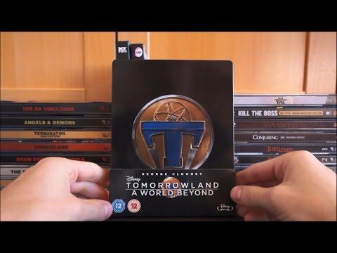 TOMORROWLAND - A WORLD BEYOND (UK Blu-ray Steelbook) / Zockis Sammelsurium Nr. 118