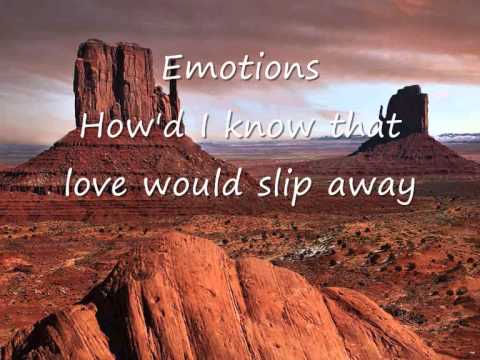 Emotions - How'd I know that love would slip away.wmv