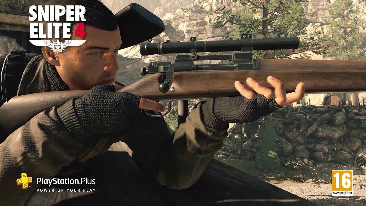 WipEout Omega Collection e Sniper Elite 4 sono i tuoi giochi PlayStation Plus di agosto