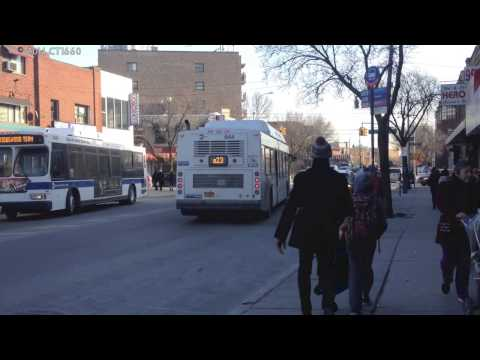 MTA Bus: New Flyer C40LF CNG #644 Q23 Leaving Martense Ave Mp3