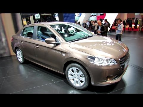 2013 Peugeot 301 - Exterior and Interior Walkaround - 2012 Paris Auto Show - Mondial de l'Automobile