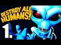 Destroy All Humans Remake Parte 1 Gameplay Espa ol