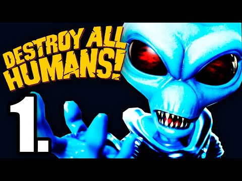 Gameplay de Destroy All Humans!