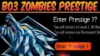 """BLACK OPS 3 ZOMBIES PRESTIGE"" MODE - WHAT HAPPENS WHEN YOU PRESTIGE? (BO3 Zombies)"