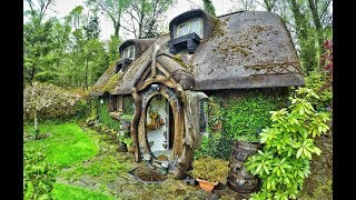 Theres A Real Life Hobbit House Built In Tomich , Scotland....