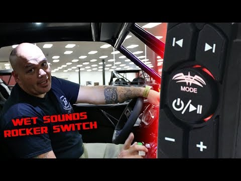Wet Sounds Rocker Switch Review  | Bluetooth UTV Sound System Switch