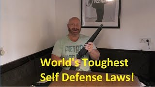Self Defense in Germany: OK or No-No?