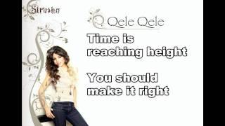 Sirusho - Qele, Qele [With Lyrics] + KARAOKE Version