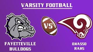 Varsity Football l Owasso vs. Fayetteville