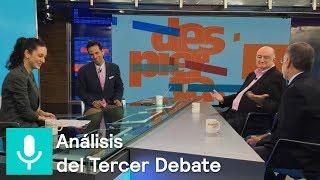 ¿Quién ganó el tercer debate presidencial? El análisis en #DespiertaConLoret