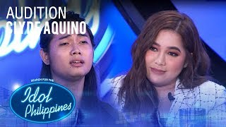 Clyde Aquino - Malaya | Idol Philippines 2019 Auditions