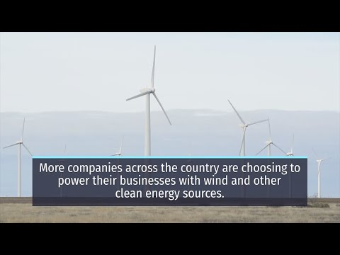 , title : 'Wind Powers American Business
