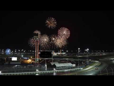 Lamborghini at the Daytona 24 Hours: first half of the race