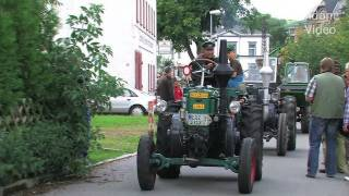 preview picture of video 'Lanz Bulldog Parade Burkhardtsdorf - Traktor - Tractor'