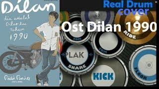 OST. Dilan ( Real Drum Cover ) | Rindu Sendiri, Kaulah Ahlinya Bagiku, Dulu Kita Masih SMA | goplak