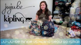 Comparing Ju-Ju-Be Minibe vs. Kipling Seoul Go (Small)