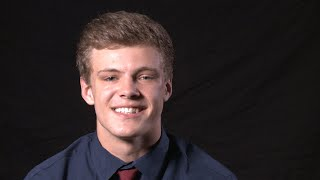 Andrew Cote, All-Area Football Player of the Year
