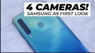 4 CAMERAS? | Samsung A9 (2018) First Look | Trusted Reviews