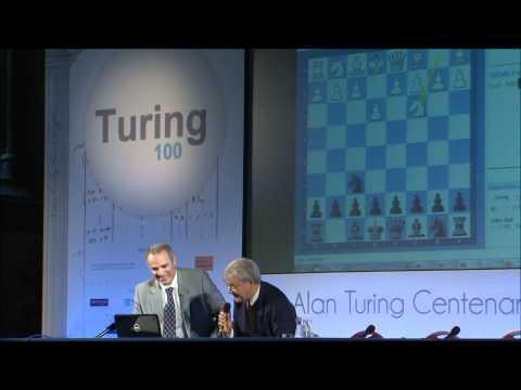 Garry Kasparov And Alan Turing Play Chess