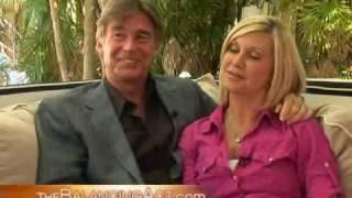 Olivia Newton John and her Husband Amazon John Easterling
