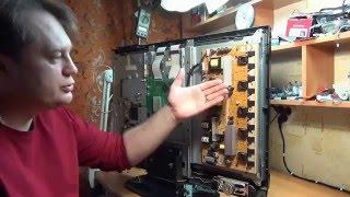 Пример урока из видео курса по ремонту ЖК телевизоров и мониторов