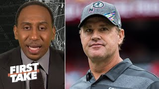 Jay Gruden was fired for losing games, not Redskins' dysfunction – Stephen A. | First Take