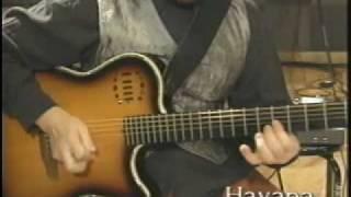 """渡辺香津美 """"kasumi watanabe""""  plays """"Havana"""""""