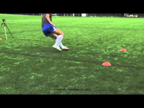 505 Agility Test Example Sports Videos