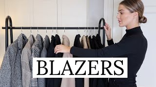 ALL MY FAVOURITE BLAZERS | NADIA ANYA