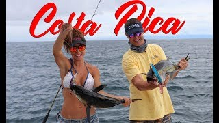FISHING with Luiza in the LIVIN The DREAM show! Costa Rica