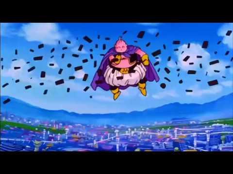 Dragonball Z Buu destroys his first city