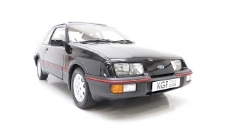 preview picture of video 'An Extremely Rare and Pristine Ford Sierra XR4i with only 45,056 Miles From New - £11,595.'