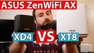 ASUS ZenWiFi AX XT8 vs ASUS ZenWiFi AX Mini XD4