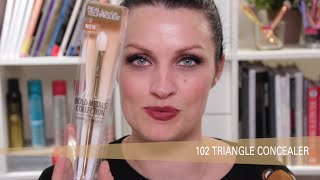 Bold Metals 102 Triangle Concealer Brush