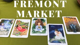 TAROT CARD READING AT THE FREMONT MARKET