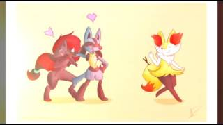 Pokemon Lucario X Braixen | Everytime We Touch
