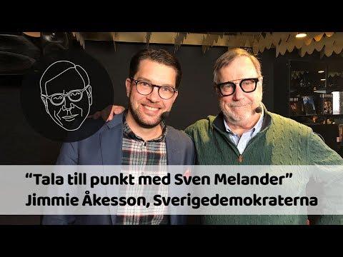Jimmie Åkesson (SD) i &quotTala till punkt med Sven Melander&quot