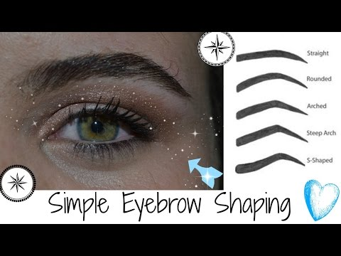 Eyebrow Shaping for Beginners *Trich Trigger Warning*