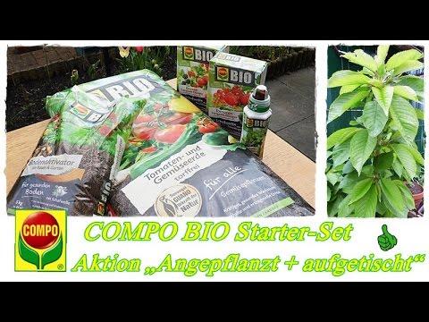 """COMPO BIO Testaktion """"Angepflanzt + aufgetischt""""/Gemüse, Obst Dünger mit Schafwolle"""