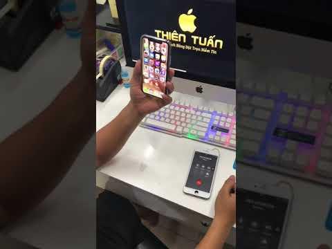 iphone X lỗi loa nhỏ và cách xử lý