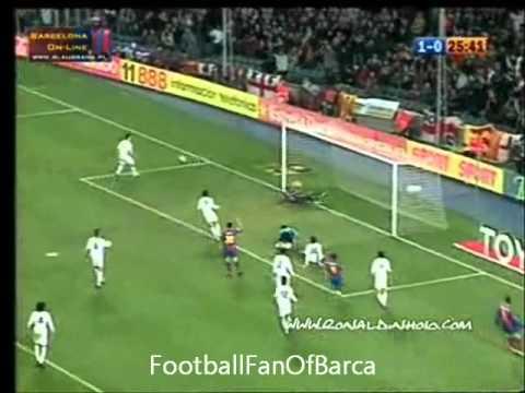 Ronaldinho Skills - FC Barcelona vs Mallorca