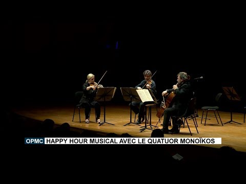 Monte-Carlo Philharmonic Orchestra: Musical Happy Hour with the Monoïkos Quartet