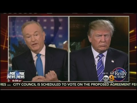 Trump Defends TV Host Bill O'Reilly Over Claims Of Sexual Harassment