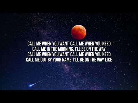 Lil Nas X  MONTERO Call Me By Your Name Lyrics