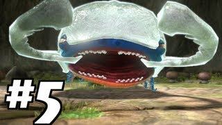 Pikmin 3 - Day 5: FIRST BOSS BATTLE - Armored Mawdad! Gameplay Walkthrough / Let's Play