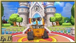 WELCOMING WALL-E, MONSTER INC, TOY STORY, AND MORE! - Disney Magic Kingdoms Gameplay - Ep. 13