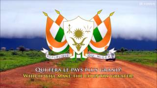 National Anthem of Niger (FR/EN lyrics) - Hymne National du Niger