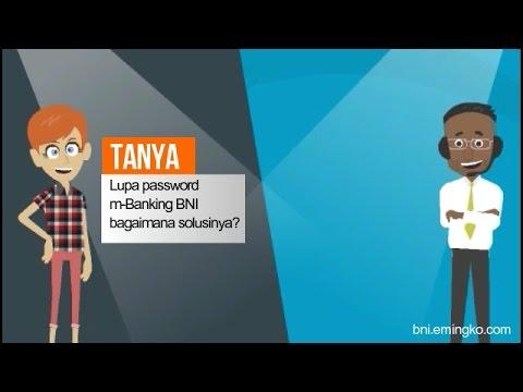 Lupa Password m-Banking BNI Bagaimana Solusinya?