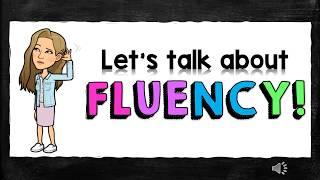 Reading Fluency!